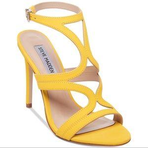 ce761646b18 Steve Madden Shoes - Steve Madden Sidney Yellow Heels